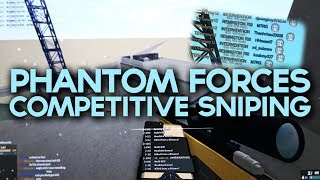 SNIPING COMPETITIVELY WITH THE LEADER OF PARADOX in PHANTOM FORCES.. (roblox)