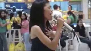 Random Girl Steps Up to Karaoke Machine and Leaves Everyone Awestruck