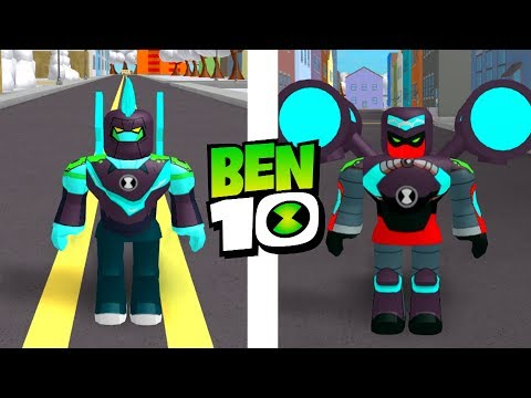 Ben 10 Reboot Omni Enhanced Aliens in Roblox Ben 10 Fighting Game