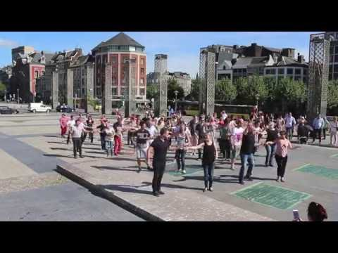International Flashmob WCS 2016 - Liège (Belgium)