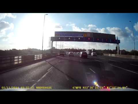 [ML59 YGF]  - Late Exit on Aston Expressway A38M
