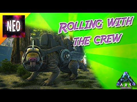 Rolling with the Crew - How to tame a Roll Rat - E2 - [ Ark ABERRATION Gameplay ]