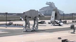 В аэропорт Запорожья прибыли войска НАТО !