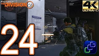 Tom Clancy's The Division 2 PC 4K Walkthrough - Part 24 - World Tier 2: Air & Space Museum, Space Ad