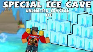 ?:smiley: [Roblox] Snow Shoveling Simulator: SPECIAL ICE CAVE (UNLIMITED ICE CRYSTALS)