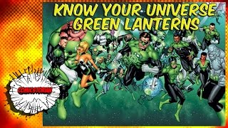The Main Green Lanterns - Know Your Universe