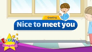 [Greeting] Good afternoon. Nice to meet you. - Easy Dialogue - Role Play