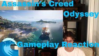 Ubisoft E3 2018 Assassins Creed Odyssey Gameplay Trailer Reaction