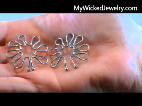 Nipple Shields Non Piercing Jewelry HowTo