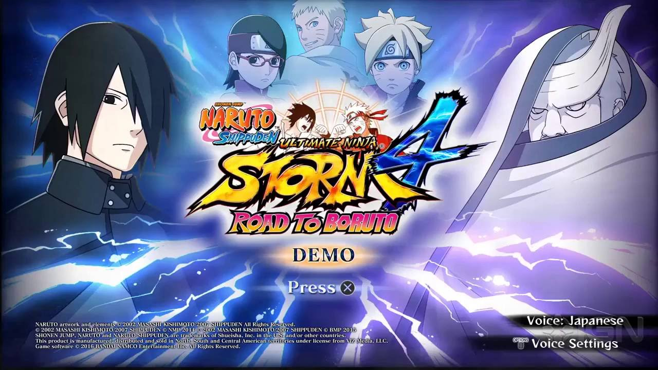 how to download naruto ultimate ninja storm 4 demo