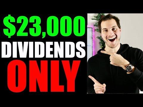 My $23,000 Dividend