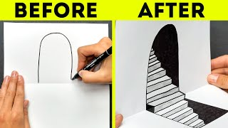 34 DRAWING TRICKS TO HAVE FUN RIGHT NOW!