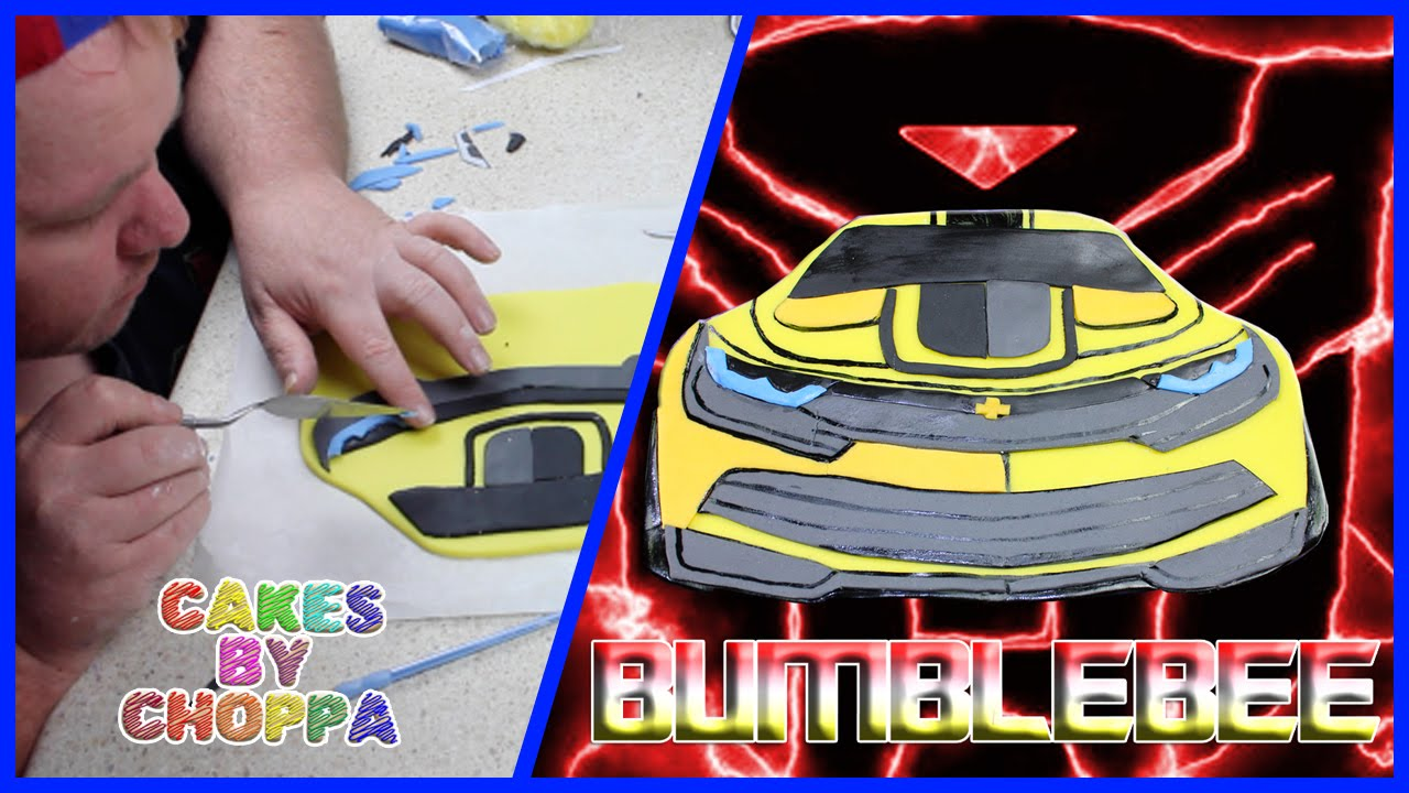 Transformers Bumblebee Cake How To Youtube