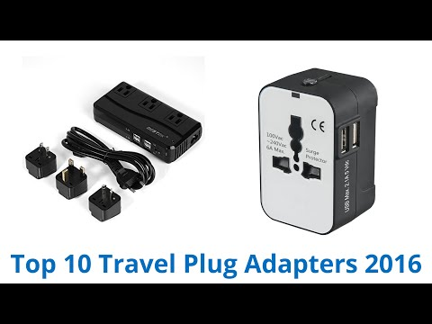 10 Best Travel Plug Adapters 2016