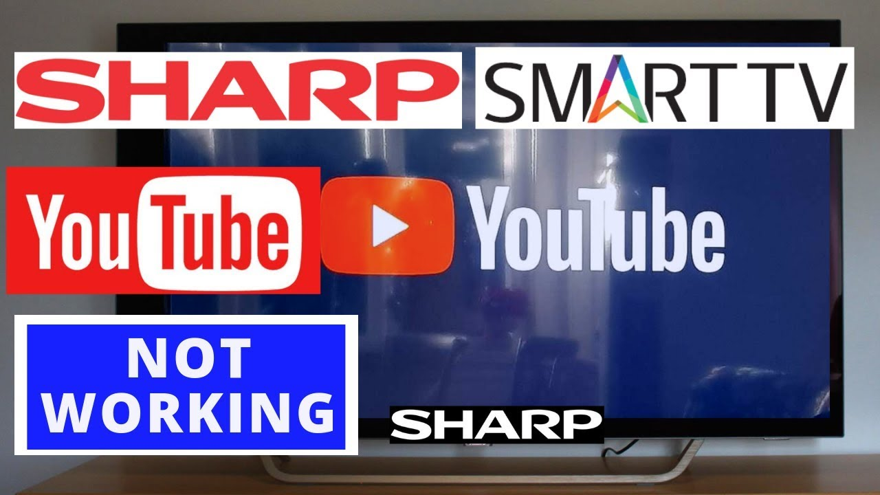 How to Fix YouTube Not Working on SHARP AQUOS TV || Youtube Stopped working  on SHARP Smart TV