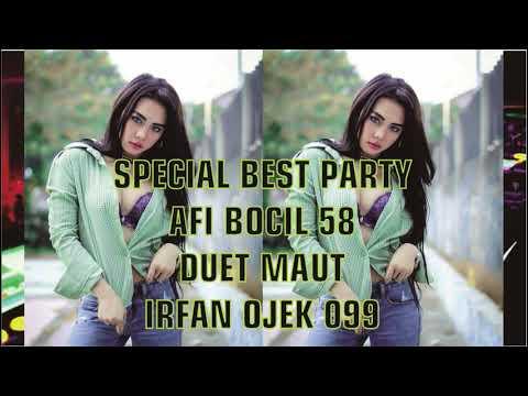 DJ ANGGA || SPECIAL BEST PARTY SANG RAJA DOLAR AFI BOCIL 58 DUET MAUT BOS MUDA IRFAN OJEK 099