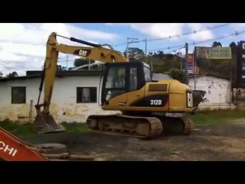 cc1ea6e08cb Excavadora Caterpillar 312 Modelo 2008 JD Importaciones - YouTube