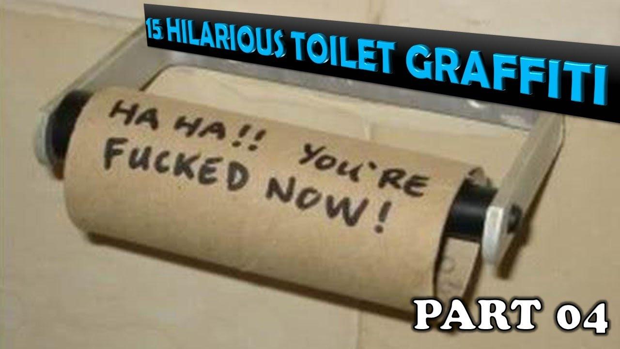 Funny Bathroom Wall Graffiti 15 hilarious bathroom writings | funny toilet graffiti!!! part 04