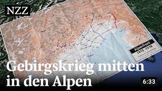 Die Alpenfront im Ersten Weltkrieg: Kampf in den Bergen