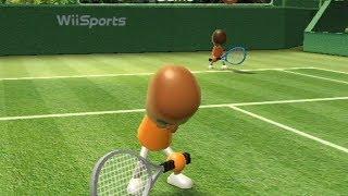 相性が悪すぎる二人 wii sports テニス