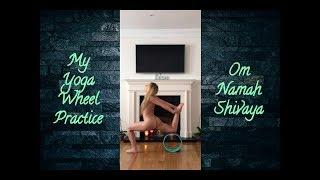 My Yoga Wheel Practice - Naked Yoga
