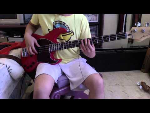 One More Night Bass Cover Using Mavis Jazz Bass 4