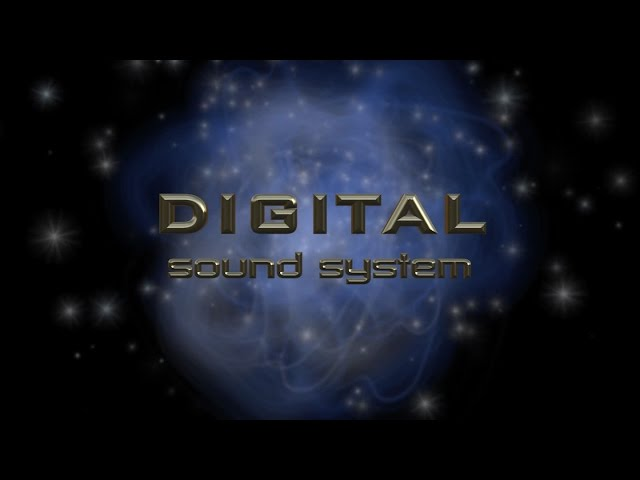 Motion Graphics - 3D Digital Sound System Logo Animation