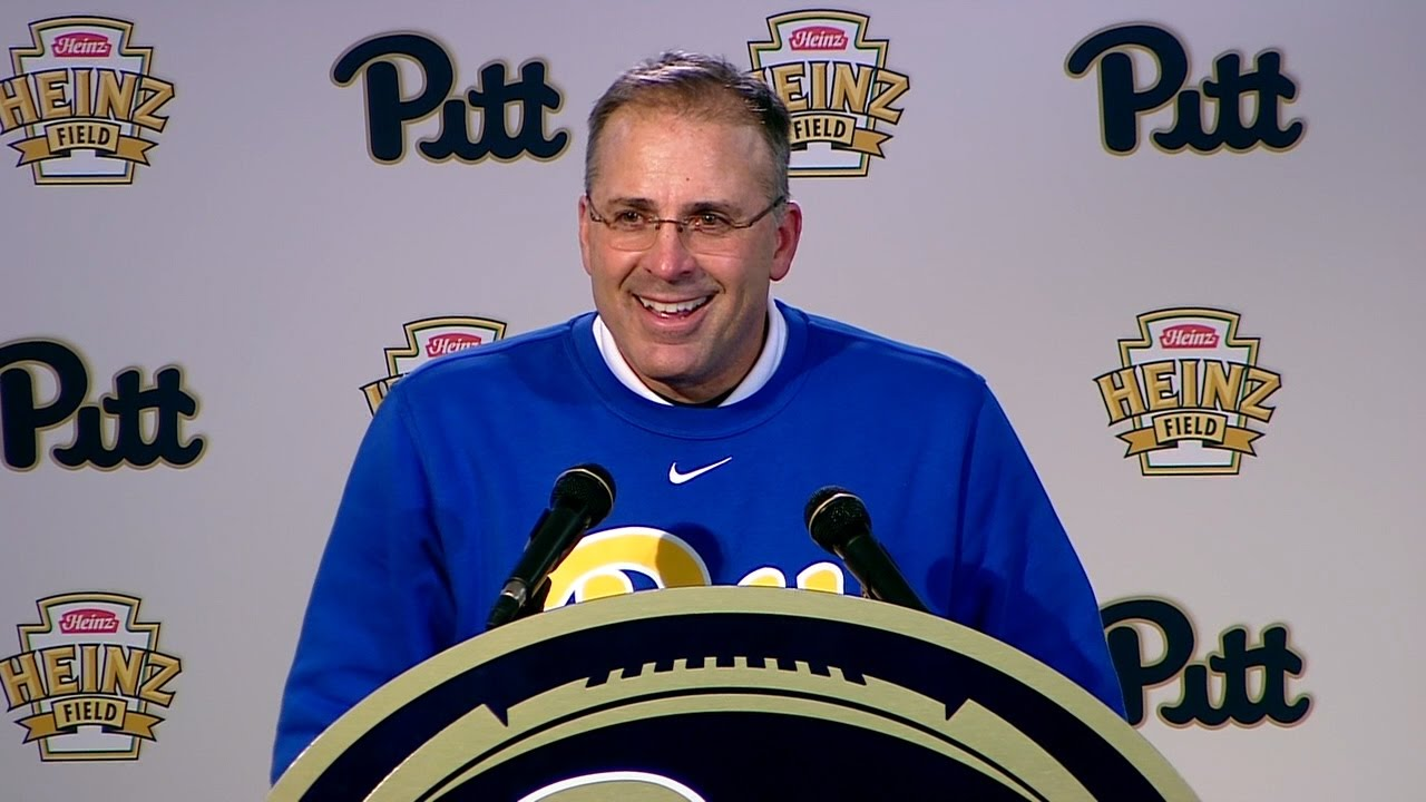 Football | Coach Narduzzi Postgame | Duke - YouTube