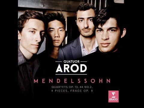 Interview with Quatuor Arod (Mendelssohn String Quartets Op.13, 44 No.2)