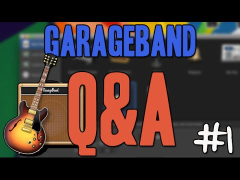 Create Custom Templates - Garageband Q&A #1