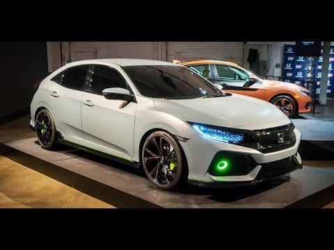 Honda Civic 2017 Hatchback - White Color