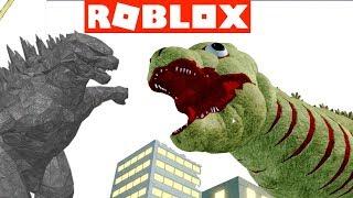 GODZILLA KAIJU ROBLOX GAMES w/ Shin Godzilla Form 2, King Ghidorah, Burning Godzilla