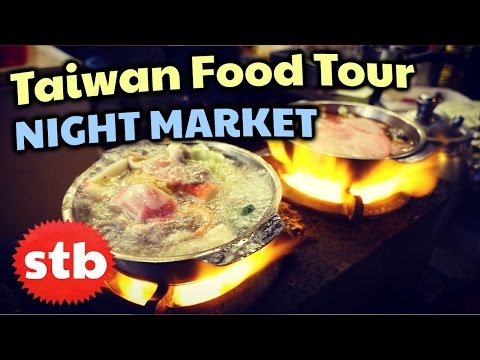 Taiwanese Food in Taipei (Shilin Night Market)