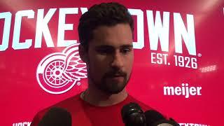 Dylan Larkin analyzes Red Wings season
