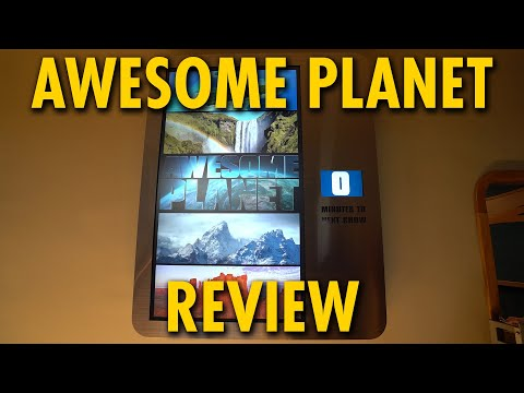 Awesome Planet Attraction at Epcot Review | Walt Disney World