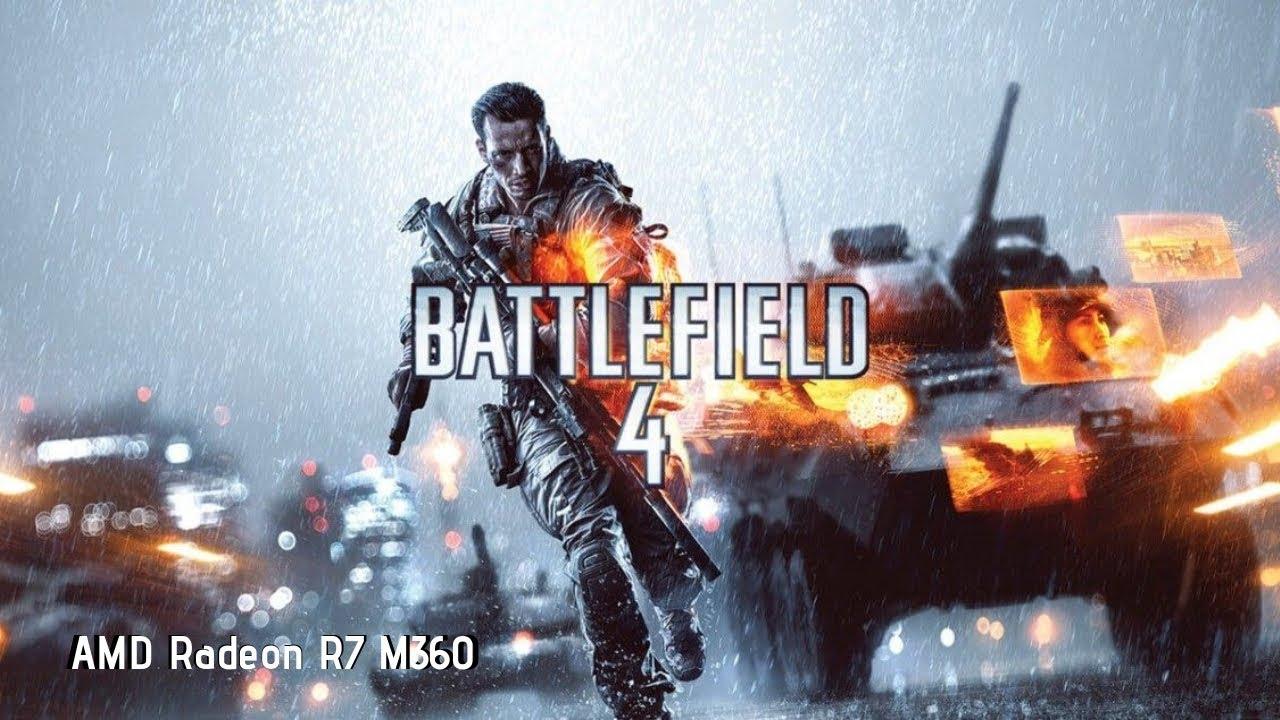 Battlefield 4 on AMD Radeon R7 M360