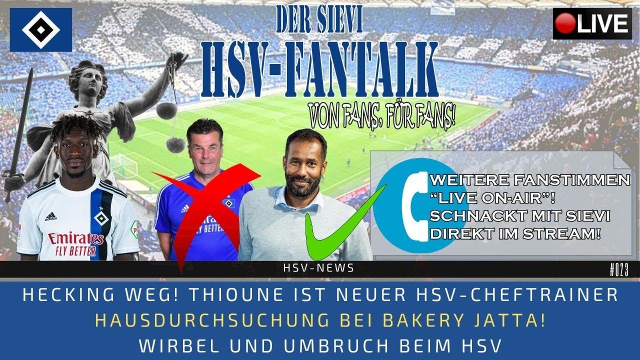 HSV-News | Hecking weg: Thioune neuer Cheftrainer! | Hausdurchsuchung bei Jatta! | #023