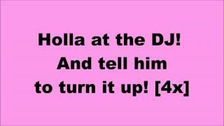 Holla At The DJ   Coco Jones Lyrics)