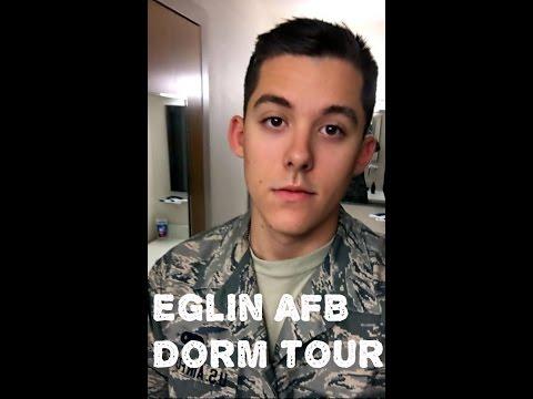 EGLIN AIR FORCE BASE DORM TOUR!! (Old Dorms)