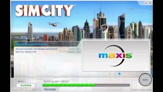 Sim City 5 GAME Collector's Edition...Updating...