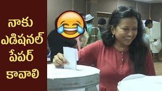 Anchor Suma Making Fun @MAA Elections 2019 | Sivaji Raja vs Naresh - Telugu Tonic