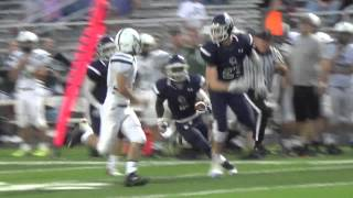 Bill Williams punt return TD vs. James Buchanan 9-18-15 - PAPREPS.COM