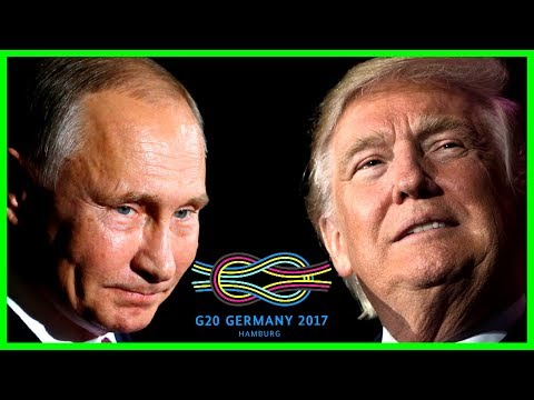 DAY 1: President Donald Trump G20 Summit Speech, Putin Meeting, Press Conference Hamburg Germany 17