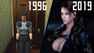 Evolution of Resident Evil Games 1996 - 2019