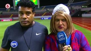 1° Tiempo: Ronaldinho en Costa Rica (Galácticos vs Leyendas)