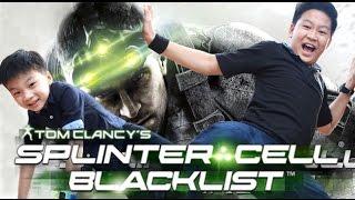 พาชมภายใน Paladin ยานบังคับการณ์ในเกมส์ Splinter Cell Black List