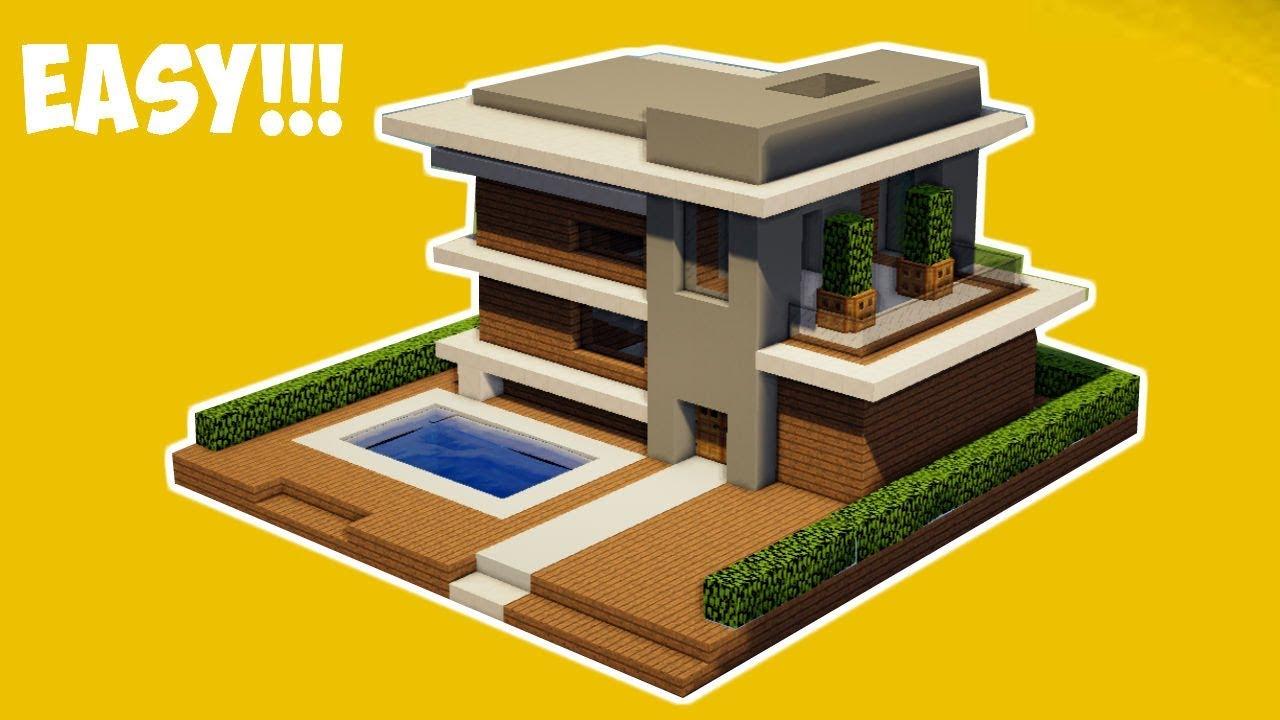 Desain Rumah Modern Minecraft - Home Desaign