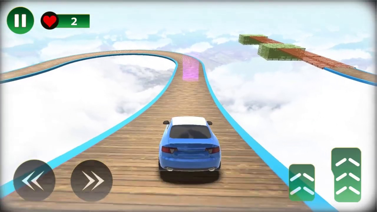 Impossible Police Car Stunt Ramp Car Stunts 3D   Android Gameplay