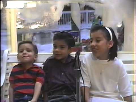 The Wilsons - Northridge Fashion Center Xmas 1989
