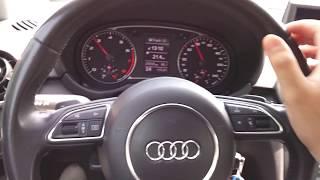 Test drive Audi A1 1.4tfsi DSG